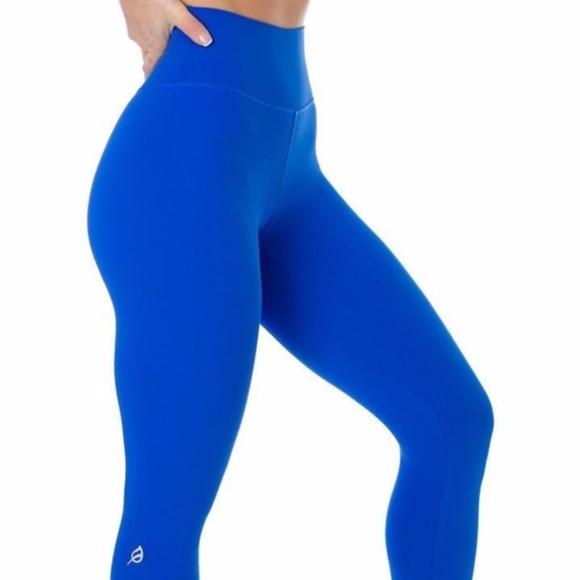 P Tula Pants Jumpsuits Ptula Mayra Plush Legging 2 Cobalt Blue S Poshmark Shop p'tula women's pants & jumpsuits at up to 70% off! poshmark